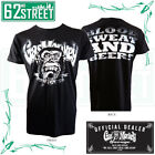 Official Gas Monkey Garage GMG 'DISTRESSED' T-Shirt with Blood, Sweat & Beers