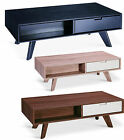 BRAND NEW HALES COFFEE TABLE WITH 2 DRAWERS IN AWESOME COLOURS