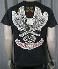 MONARCHY Men's Society Black T Shirt Crew Neck NWT L
