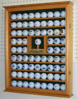 Shadow Box Wall Cabinet to hold 76 Golf Balls, Great Golf Gift, GB07