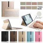 7 Color Backlit Bluetooth Keyboard Case Cover For Samsung Galaxy Tab A 10.1 T580