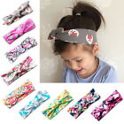 Baby Girls Floral Animal Fruit Turban Knot Rabbit Headband Hairband Wrap C