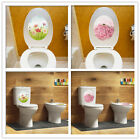 Toilet Seat Cover Sticker Bathroom Home Decoration Wall Sticker Furniture Decor