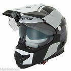 Spada Intrepid Adventure Motorcycle Helmet - White/Black