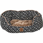 Precision Pet SnooZZy IKAT Ease Navy Daydreamer Dog Bed