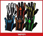 "Kids/Mini/Junior ""2nd Skin"" 3/4 Fingered Rugby Silicon Grip Gloves/Mitts/Mits"