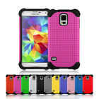 Samsung Galaxy S5 Case Shock Proof Defender Heavy Duty Protective Hard  Cover