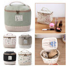 Внешний вид - Travel Multifunction  Linen Cosmetic Makeup Bag Toiletry Organizer Storage Case