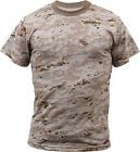 Desert Digital Camouflage Tactical Military Short Sleeve Camo Shirt