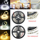 Super Bright 5M SMD 300/600 LED 3014 (Non) Waterproof Flexible Strip Light DC12V