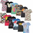 Disney donna maglietta tgl.XS-XXL Top Batman Minions Princess Marvel Star Wars