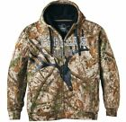 NEW 3XL XL ZONZ WoodLands Insulated Hooded Camo Jacket Mens Hunting Coat Cabelas