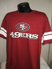 NFL San Francisco 49ers Football Hashmark T Shirt Mens Sizes Majestic New $14.29 USD on eBay