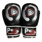 New Adult Boxing Leather Gloves Punching Mitts Training Martial Arts 1059 Black