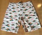 EXCLUSIVE BERNER COOKIES SF ALOHA CUT AND SEW SHORTS!!!!