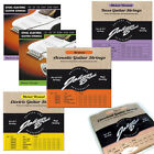 Electric Acoustic & Bass Guitar Strings Nickel Steel Nylon - Johnny Brook