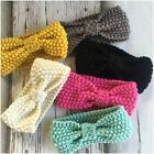 Miss MELODY - Newborn Baby Girls Stretch Knit/knitted Ear Warmer Headband