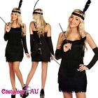 20s 1920s Charleston Black Flapper Fancy Dress Gatsby Costume Cigarette Holder