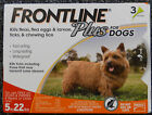 Frontline Plus For Dogs 3 Month Supply  (Choose Your Dog Size)  (Factory Sealed)