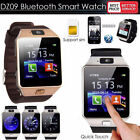 DZ09 Bluetooth Wrist Streetwise Watch Phone Camera SIM Card For Android IOS iPhone