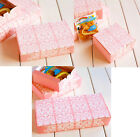 10Pc 4/6/8 Cavity Mooncake Cake Western Paper Box Container Party Wedding Gift