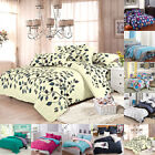 Single/Twin Double/Queen King Duvet Cover Pillow Case Quilt Cover Bedding Set