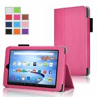 For Amazon Kindle Fire 7 Slim Folio Leather Smart Cover Case w/ Auto Wakes/Sleep