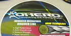 OHERO ADVANCED BRAIDED MICROFIBER FISHING LINE-- 15 lbs -300 YDS - CHOOSE COLOR