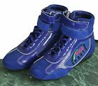 Kids/junior Karting /Race/Rally/ Boots with SHINY artificial leather /suede mix