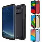 8000mAh For Samsung Galaxy S7 Edge S8 Plus Power Bank Battery Charger Case Cover