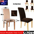 1/4/6/8 Super Fit Protector Removable Covers Stretch Washable Dining Chair Cover