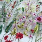 New mixed color heavy beaded embroidered hight quantity dress lace fabric by yar