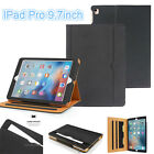 Soft Leather Wallet Smart Case Stand Cover For iPad Pro ipad 2 3 4 iPad mini Air
