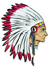 Indian Head Sticker Decal Camping Hunting Vinyl Sticker Painting HD
