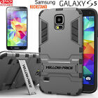 For Samsung Galaxy S5 S6/S6 Edge+Plus [Active Armor]Rugged Slim Case+Protector