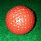 Red Low Bounce Golf Balls Suitable for Mini Golf / Crazy Golf