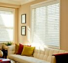 "2"" FAUXWOOD PREMIUM BLINDS 60"" WIDE by 24"" to 96""in LENGTH"