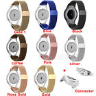 Stainless Steel Band + Connector Adapter For Samsung Galaxy Gear S2 RM-720