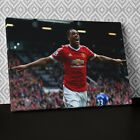 S577 Anthony Martial Man Utd Sport Canvas Wall Art Framed Picture Print