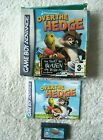 36642 Over The Hedge - Nintendo Game Boy Advance Game (2006) AGB-P-BH5P
