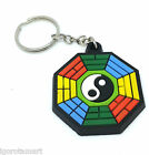 Key Ring Keychains Keyring Rubber Chain For Keys Pouches Bags