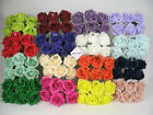 180 x 6cm  Quality foam rose Wedding bouquets Floral display White Ivory Colours