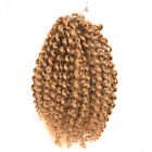 "Ombre Color Honey #27 MALI BOB CURL 8"" Curly Twist Crochet Braids Hair Synthetic"