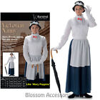 CL981 Victorian Nanny Mary Poppins Book Week Fancy Dress Up Edwardian Costume