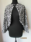DALMATION CAPE CRUELLA DE VILLE WORLD BOOK DAY CLOAK WRAP SIZE 8 28 HALLOWEEN