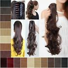 Jaw Ponytail Clip in Hair Extension Claw Pony tail clip on Extensions Hairpiece