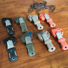 Outdoor EDC gear Multifunction Survival Mini Tool Tooth Knife Webbing Buckle