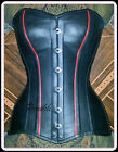 Sweetheart Shape Over Bust Steel Bone Genuine leather Corset 9971 Sizes 34~to~56
