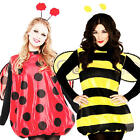 Insect Bug UK 10 12 Ladies Fancy Dress Animal Book Day Week Womens Adult Costume