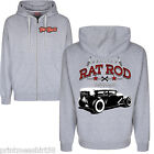 Hot Rod 58 Rat Rod Vintage Rockabilly Retro Auto Felpa Con Cappuccio